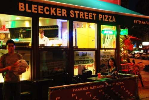 Thursday #1 - Bleecker Street Pizza